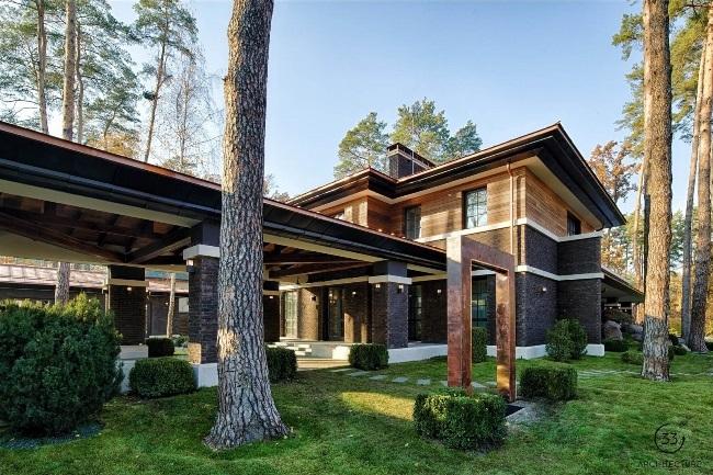 Частная резиденция в Киеве от 33bY Architecture