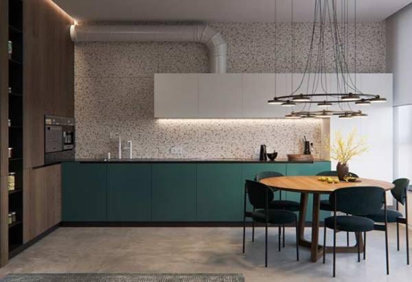 6 признаков кухни в стиле минимализм и 20 красивых фото-примеров