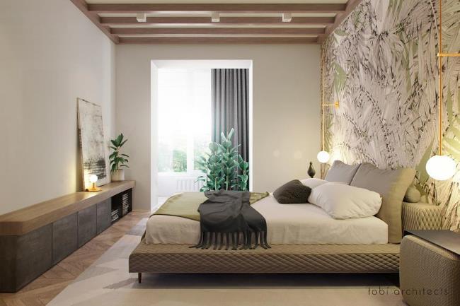 Стильные апартаменты для молодой семьи от tobi architects
