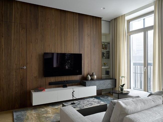 Современная квартира в Москве от Kerimov Architects