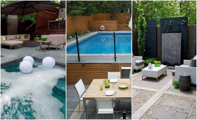 3 проекта заднего дворика от SANDER DESIGN Landscape Architecture