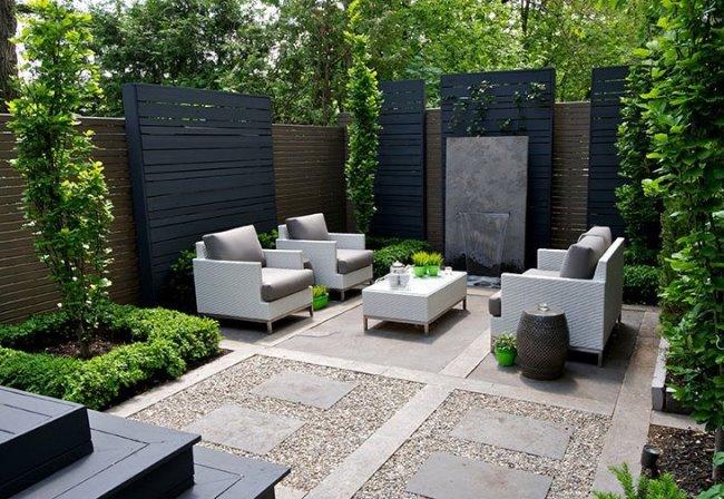 3 проекта заднего дворика от SANDER DESIGN