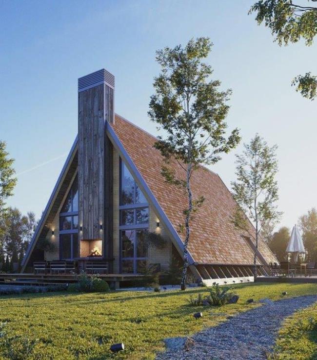 T-HOUSE проект загородного дома от BY Visuals