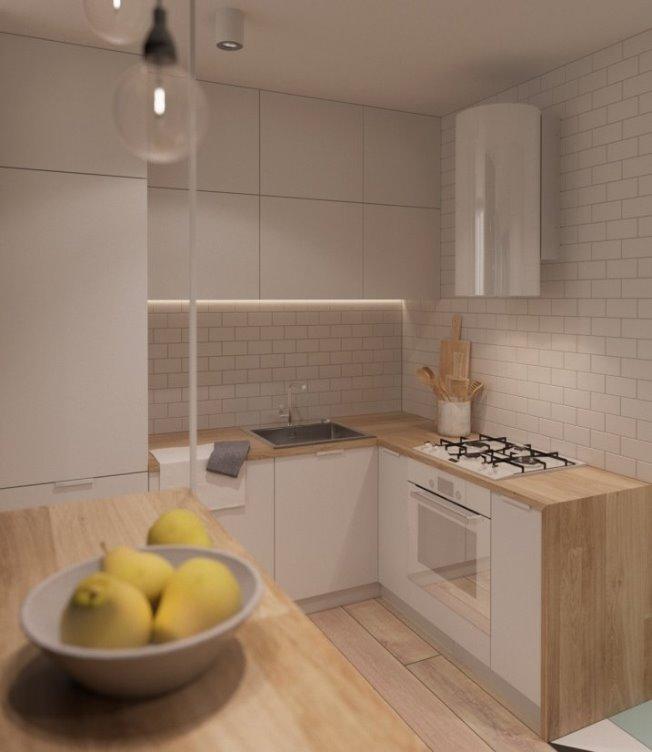 Небольшие апартаменты от NODE design