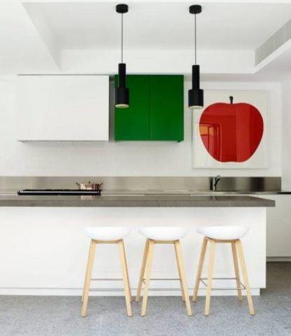 33 крутых дизайна «зеленой» кухни