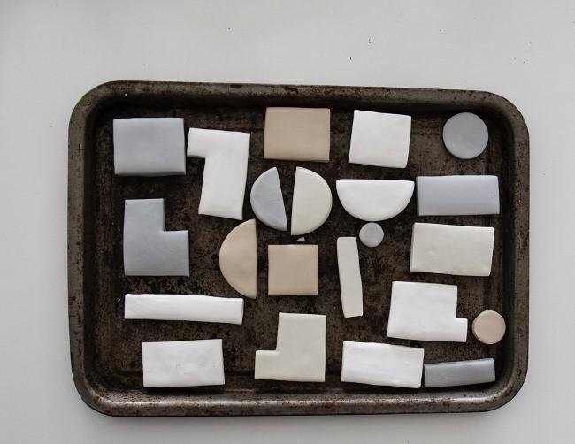 3D панно для интерьера из полимерной глины