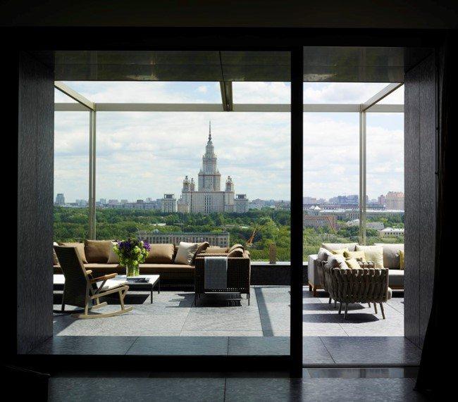 Московский пентхаус от Mario Mazzer Architects