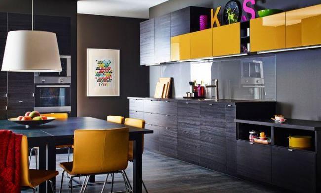 20 крутых вариантов кухни в черном цвете