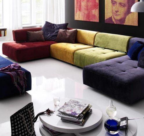 Перетяжка дивана. Какой выбрать материал и 17 крутых идей новой обивки
