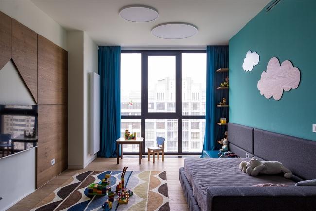 Причудливая индивидуальность: квартира в Киеве от Алёны Макагон