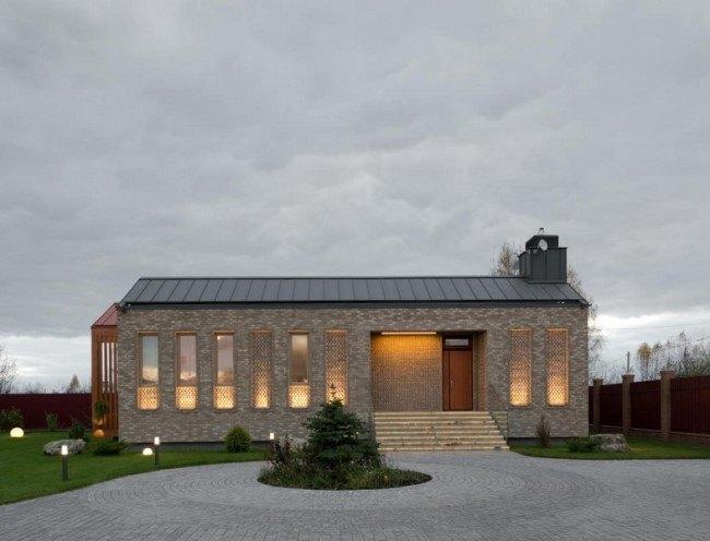 Дом 3в1 - необычная архитектура для Подмосковья