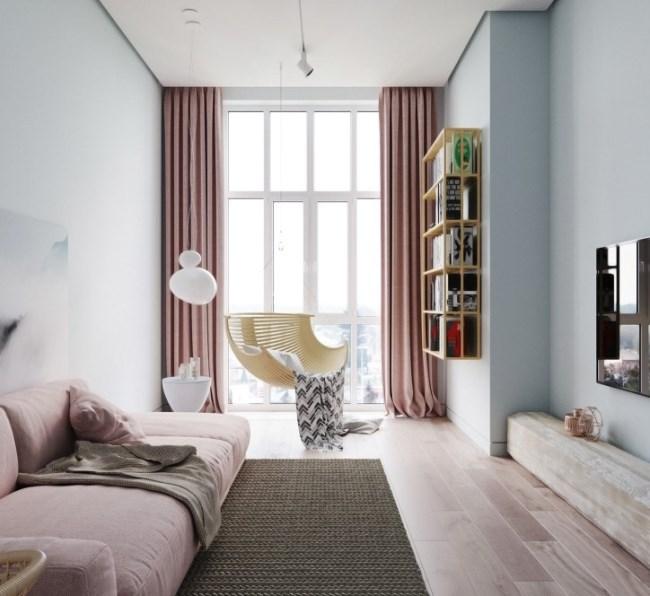 Нежно-зефирная квартира с характером от дизайн-студии Артпартнер