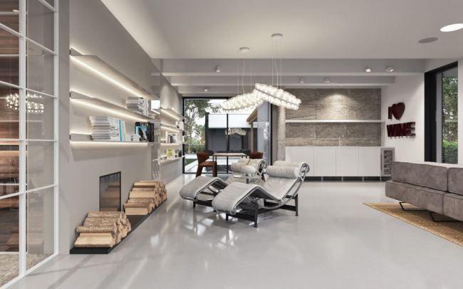 Проект современного гостевого дома от Azovskiy&Pahomova Architects