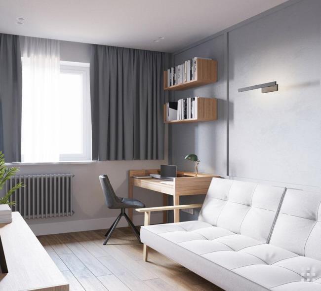 Безмятежные апартаменты в Минске от Zrobym Architects