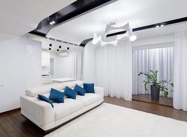 Дизайн потолочного пространства