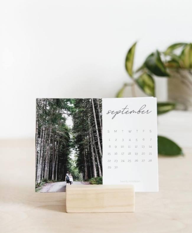 Памятный фото-календарь своими руками