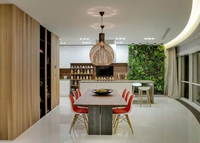 Saz Apartment: восхитительный дизайн квартиры в Москве 2B.GROUP