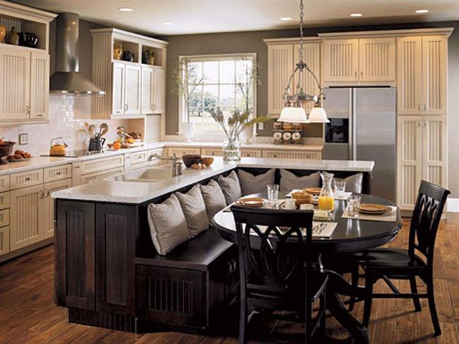 23 идеи кухонного острова