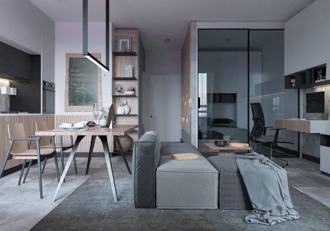 Компактные апартаменты в Харькове