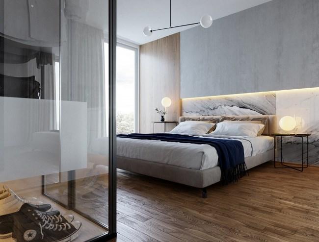 A bit of gloss - дизайн апартаментов от Lyubov Lazoriv