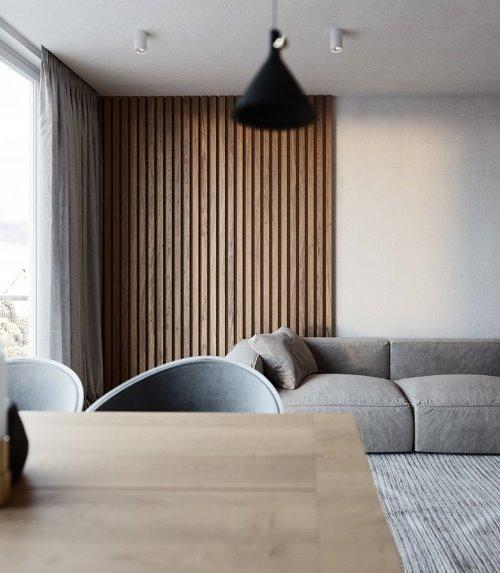 A bit of gloss — дизайн апартаментов от Lyubov Lazoriv