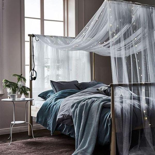 20 красивых идей спальни с балдахином