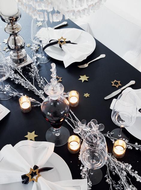 Датский новогодний декор