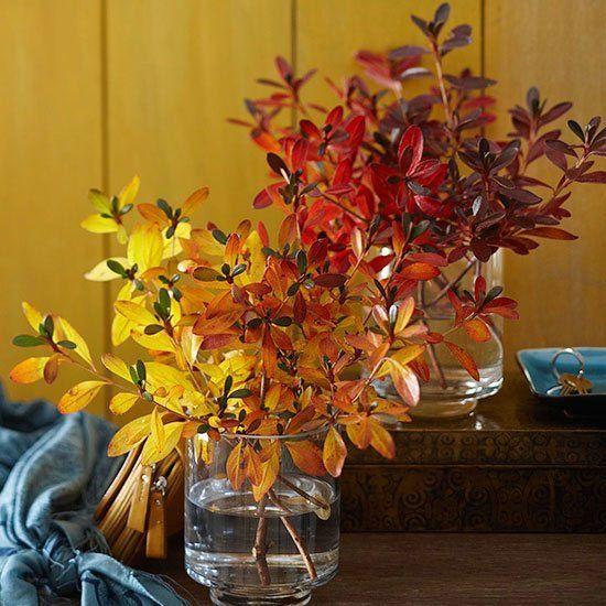Осенний декор из натуральных материалов