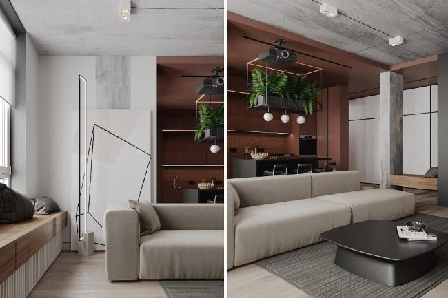 Дизайн апартаментов Umber Burnt от ArtPartner Architects