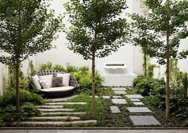 23 красивых внутренних дворика