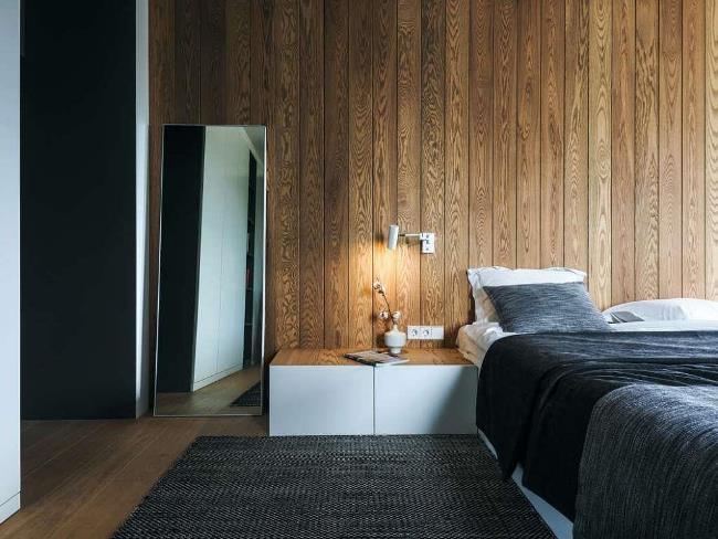 Дизайн двухуровневых апартаментов от Line Design Studio в Калининграде
