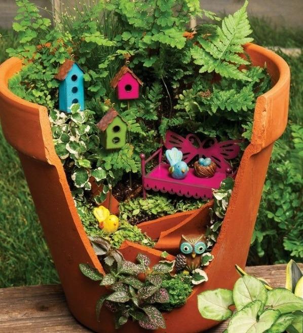 Мини-сад,аксессуары для дома, декор своими руками для дома, идеи дизайна интерьера, растения в интерьере, экодизайн, мини-сад своими руками