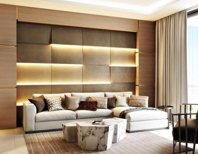 Стильный диван в доме - уют и комфорт