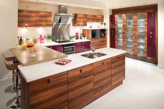 Современный дизайн кухни: 5 вариантов
