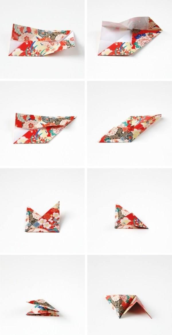 декор своими руками для дома, 3D оригами для украшения интерьера