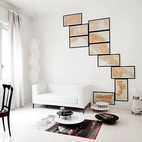 декор стен, декор интерьера своими руками, постеры обои фото