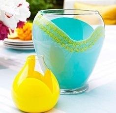 Декор стеклянных ваз