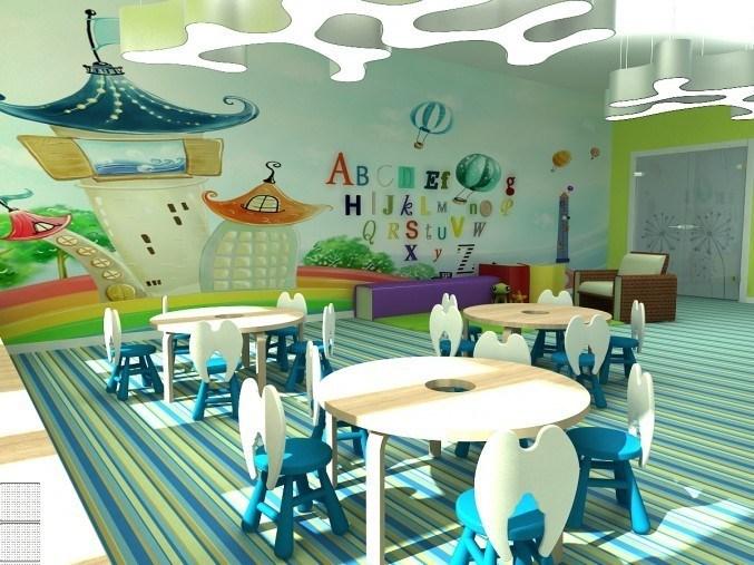 Интерьер детского сада оформление