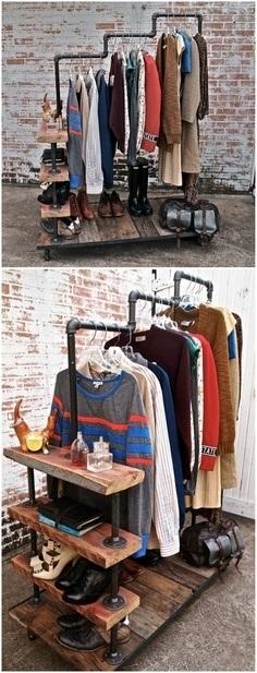 аксессуары для дома, порядок в доме, полезные советы для дома, мебель своими руками фото, вешалка для одежды