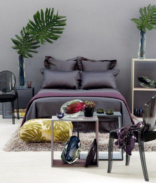 цвет в интерьере спальни,