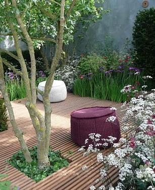 Внутренний дворик: 30 идей ландшафтного дизайна